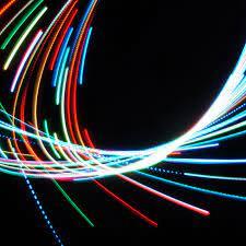 wallpaper 2780x2780 neon, lines, light ...