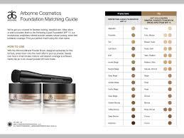 Liquid Mineral Powder Match Arbonne Makeup Powder