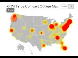 Comcast Outage Affecting Customers Nationwide