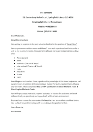 Resume Cover Letter Template 2018 Delectable Mechanic Cover Letter Automotive Technician Cover Letter Template