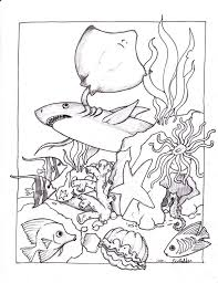 Small Picture Coloring Pages Ariel Sea With Water Themed esonme