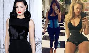 Dita Von Teese slams the Kardashians for promoting waist training on  Instagram