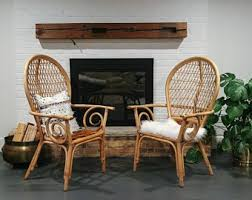 bamboo dining chairs. Set Of 2 Rattan Chairs/Dining Chairs/Bamboo Chairs/ Local Pick Up Chicago Area Or Your Shipper Bamboo Dining Chairs
