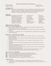 Maintenance Technician Resume Sample Sample Resume Maintenance Technician Examples Maintenance Technician