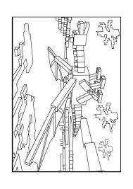 Adult Coloring Pages For Minecraft Coloring Pages Minecraft Ender