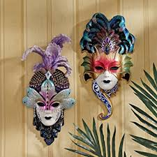 Decorative Venetian Wall Masks Amazon Italian Venetian Art Decor Carnival Masquerades 10