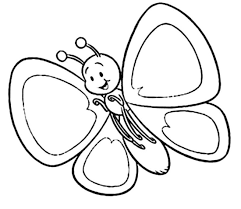 Beautiful Butterfly Coloring Pages With For Preschool - glum.me