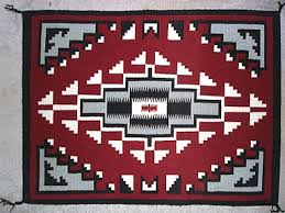 Image Tapestry Weaving Ganado Style Navajo Rug Ganado Design Art Needlepoint Photo Gallery us National Park Service