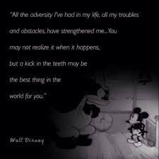 Walt Disney Adversity Daily Motivational Quotes