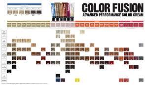 Redken Color Fusion Shade Chart Hair Redken Color