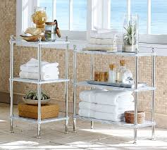 Metal Marble Etagere Pottery Barn