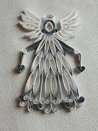 1 Toller Engel Weiß Silber Christbaumschmuck