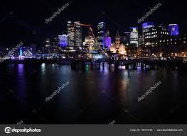 Skyline Festival Of Lights Discount Sydney City Skyline By Night During Vivid Sydney Lights