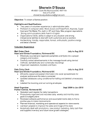Bartender Resume Sample Job And Resume Template