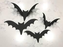 Halloween · halloween 2018 · hanging wall decorations/wreaths · home decor · papercraft. 100pcs Halloween Bats Wall Bats Card Stock Bats Cut Outs Halloween Magicdealstore