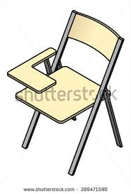 Brilliant School Chair Drawing A Folding With To Inspiration Decorating