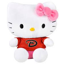 Arizona Diamondbacks 8'' Hello Kitty Plush Toy
