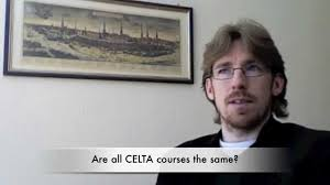 Anthony Gaughan on Celta courses - YouTube
