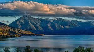 Nature Lake Landscape Reflection 4K ...