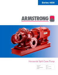 Armstrong Pump Curve Charts Series 4600 Hsc S A Armstrong Limited Pdf Catalogs