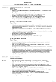 Operations Manager Resume Examples Resume For Operations Manager 100x100 Director Example Business 58