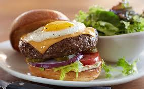 half pound wagyu beef egg burger