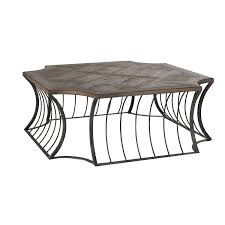gabby home seth bronze 48 inch coffee table hover to zoom