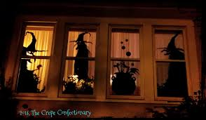 Witchy Window Silhouette DIY