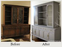 furniture makeovers the power of paint removing dated glass panels and painting it in