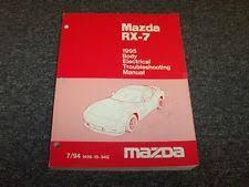 rx7 manual 1995 mazda rx7 hatchback original body electrical wiring diagram manual 1 3l