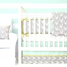 monogrammed crib bedding sets monogram your woodlands deer set by lane here make nursery unforgettable