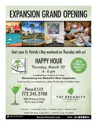 Grand Opening Flyer Custom BRTflyerGrandOpening The Brennity At Tradition