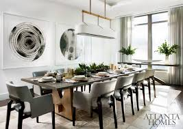 art dining room furniture. A Pair Of Watercolors By Don Cooper, Represented Sandler Hudson, Are Commanding Presence In The Dining Room. Jiun Ho Light Fixture And Table Art Room Furniture I