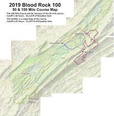 Blood Rock 100 50 Southeastern Trail Runs