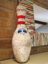 Decorated Bowling Pins home decor Si Oz 48