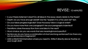 the staar expository essay ppt 7 revise
