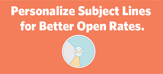 6 Ways To Use Personalization In Email Subject Lines For