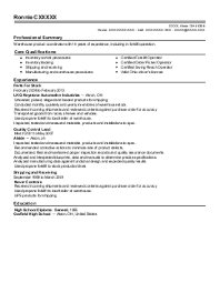Resume For Customs And Border Protection Officer Customs And Border Protection Resume