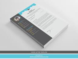 Template For Cover Letter Free Creative CVResume Design Template With Cover Letter For 24
