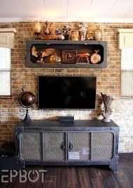 Finished Steampunk TV Cabinet & Shelf Reveal!