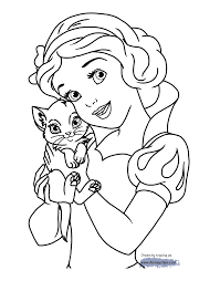 Small Picture Disneys Snow White Printable Coloring Pages Disney Coloring Book