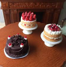 Choice Of Four Beautiful Cakes For Your Dollhouse Or Miniature Etsy