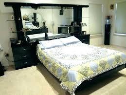 Mirrored Queen Bed Mirror Headboard Canopy – YourLegacy