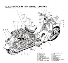 17 best images about scooter motorcycle boot honda super club electric wiring diagram