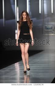 Zagreb Croatia March 14 Fashion Model Stock Photo (Edit Now) 131658176