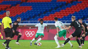 اولمبياد طوكيو 2020.. نتيجة مباراة السعودية والمانيا في كرة القدم
