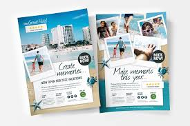 Flyer Poster Templates Travel Hotel Flyerposter Template