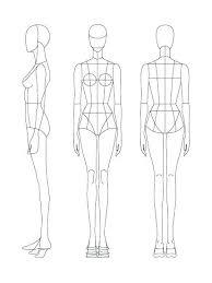 Fashion Illustration Templates Free Download Blackampersandco