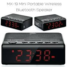 projection alarm clock with usb clock with usb charger wireless amplifier speaker alarm clock phone charger