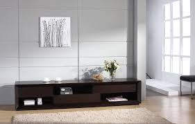 Wenge Living Room Furniture Assym Modern Tv Stand In Wenge Finish By Beverly Hills Furniture